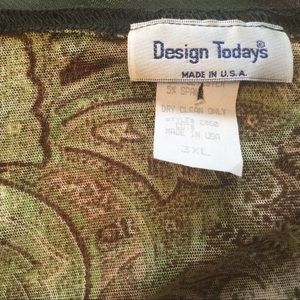 Design Todays Other - High End Skirt & Top Set.  Dry Clean ONLY